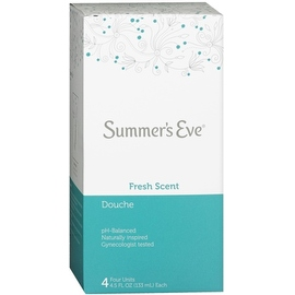 Summer's Eve Douche Fresh Scent 4 Each