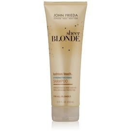 John Frieda Sheer Blonde Lustrous Touch 8.45-ounce Strengthening Shampoo