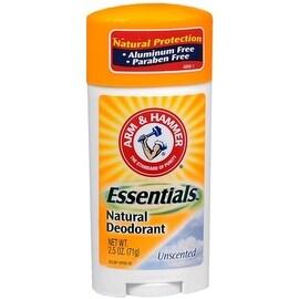 ARM & HAMMER Essentials Natural Deodorant Unscented 2.50 oz