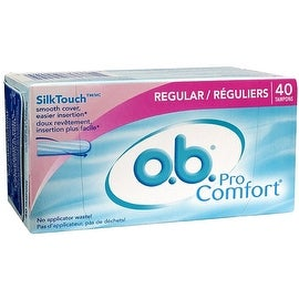 o.b. Pro Comfort Tampons, Regular 40 ea