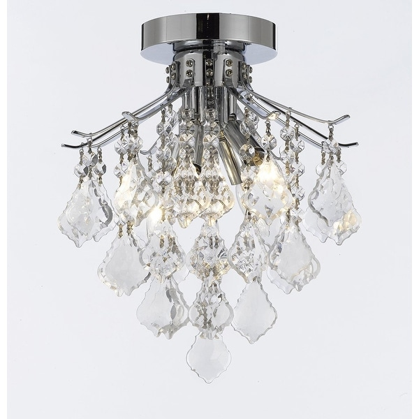 French Empire Empress Crystal Chandelier Lighting H8 X W12