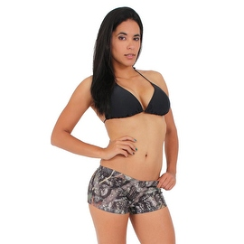Women's Juniors Camo Hot Shorts Authentic True Timber GREEN