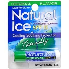 Mentholatum Natural Ice Lip Balm Original SPF 15