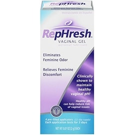 RepHresh Vaginal Gel Personal Lubricant, Pre-Filled Applicators 4 ea