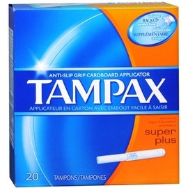Tampax Tampons Super Plus 20 Each