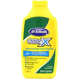 Dr. Scholl's Odor-X Odor Fighting Foot Powder 6.25 oz