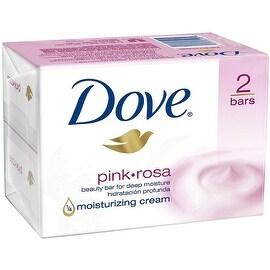 Dove 4-ounce Beauty Bars Pink (2 Bars)