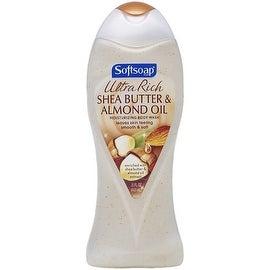Softsoap Ultra Rich Shea Butter and Almond Oil Moisturizing Body Wash 15 oz