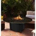California Outdoor Concepts 5010-BK-PG1-BM-48 Carmel Chat Height Fire Pit-Bla... - Thumbnail 9
