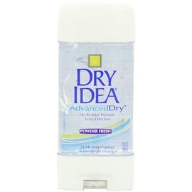 Dry Idea Advanced Dry Antiperspirant & Deodorant Clear Gel, Powder Fresh 3 oz