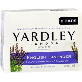 Yardley London Moisturizing Bars English Lavender With Essential Oils 8.50 oz