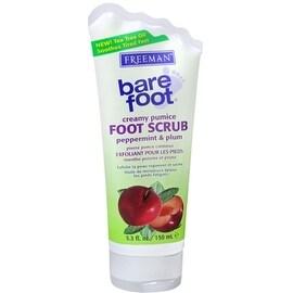 Freeman Bare Foot Creamy Pumice Foot Scrub Peppermint & Plum 5.30 oz