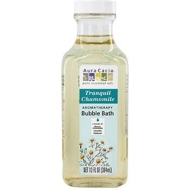 Aura Cacia Aromatherapy Bubble Bath, Tranquil Chamomile 13 oz