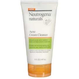 Neutrogena Naturals Acne Cream Cleanser 5 oz