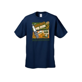 Men's T-Shirt Dirty Dick's Auto Repair Route 7 Hot Rot Tunned Shop Engine Parts
