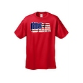 Men's USA Flag T Shirt 3D Patriotic Pride Stars & Stripes American Old Glory Tee - Thumbnail 6