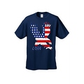 Men's T-Shirt USA Flag American Bald Eagle Stars & Stripes Old Glory Pride Patriotic - Thumbnail 4