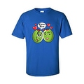 MEN'S / UNISEX T-SHIRT Olive You! FUNNY HEARTS VALENTINE'S DAY TOP S-2X 3X 4X 5X - Thumbnail 4