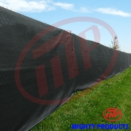 Xtarps - Size: 6 ft. x 16 ft. - Premium Privacy Fence Screen 90% Blockage, GREEN color