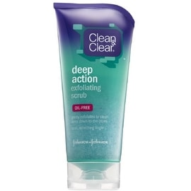 CLEAN & CLEAR Deep Action Exfoliating Scrub Oil-Free 5 oz