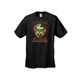 Men's T-Shirt If I Come Back As A Zombie I'm Eating You Frist Undead Graphic Tee - Thumbnail 5