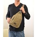 Vintage Canvas Satchel School Military Men's Hiking Shoulder Bag Messenger Bag - Thumbnail 9
