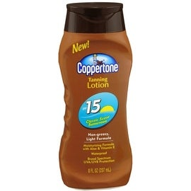 Coppertone 8-ounce Tanning Lotion SPF 15