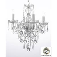 All Crystal Chandelier Lighting With 40 mm Crystal Balls & Icicles