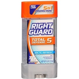 Right Guard Total Defense 5 Power Gel, Antiperspirant & Deodorant, Artic Refresh 4 oz