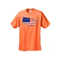 Men's USA Flag T Shirt Patriotic Country Pride Stars & Stripes Proud American - Thumbnail 0