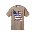 Men's T-Shirt USA Flag American Bald Eagle Stars & Stripes Old Glory Pride Patriotic - Thumbnail 8