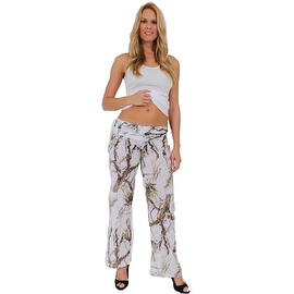 Women's Juniors Authentic True Timber Pants Camouflage Hunt Camo WHITE