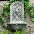 Sunnydaze Decorative Lion Outdoor Wall Fountain - Thumbnail 4
