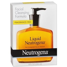 Neutrogena Liquid Facial Cleansing Formula Fragrance-Free 8 oz
