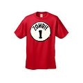Men's T-Shirt Zombie 1 Thing 1 Circle Team Undead Virus Bitters Walkers Tee S-5XL - Thumbnail 4