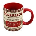 Love and Marriage Mug by Russ Berrie - Thumbnail 0