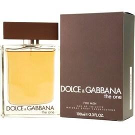 Dolce & Gabbana The One - Eau de Toilette Natural Spray for Men 3.3 oz