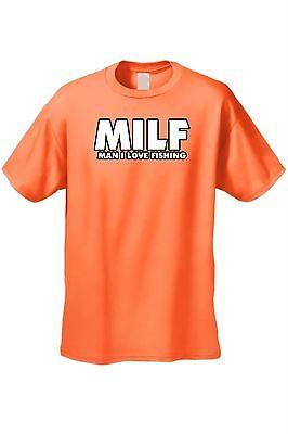 637bc789 Shop Men's Funny T-Shirt Milf Man I Love Fishing Adult Sex Humor Fish Joke  Hunting - Free Shipping On Orders Over $45 - Overstock - 11599492