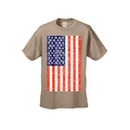 Men's T-Shirt USA Flag American Pride Stars & Stripes Old Glory Tee Distressed - Thumbnail 4