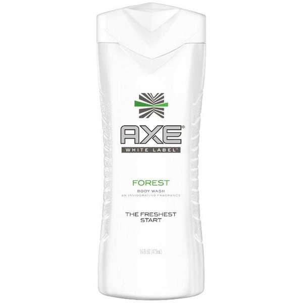 Axe White Label Body Wash, Forest 16 oz