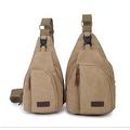 Vintage Canvas Satchel School Military Men's Hiking Shoulder Bag Messenger Bag - Thumbnail 8