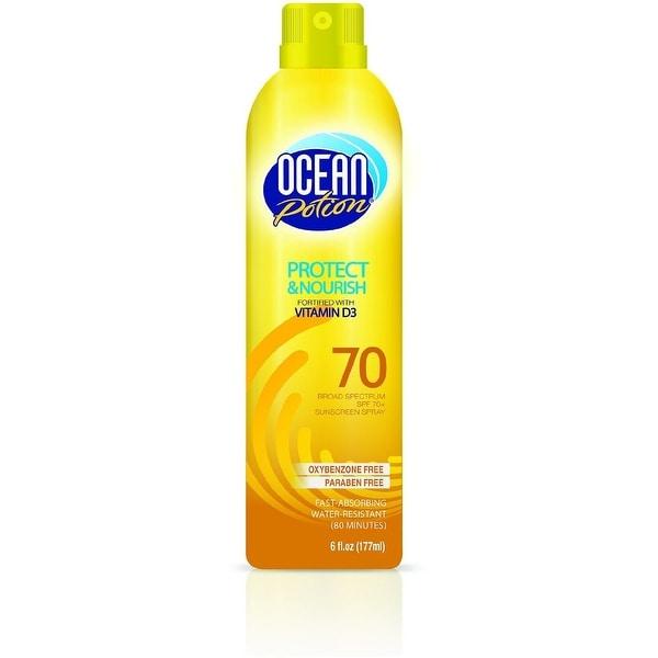 Ocean Potion Protect & Nourish Sunscreen Spray, SPF 70 6 oz