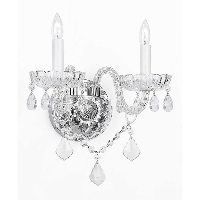 Venetian style crystal wall sconce lighting free shipping today venetian style crystal wall sconce lighting aloadofball Gallery