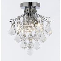 French Empire Empress Crystal Chandelier Lighting H8 x W12
