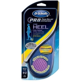 Dr. Scholl's Heel Pain Relief Orthotics Men's 8-12 1 Pair