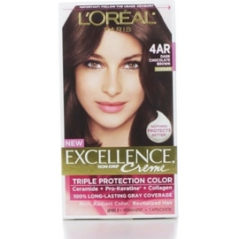 L'Oreal Paris Excellence Creme Triple Protection Hair Color Dark Chocolate Brown [G15]