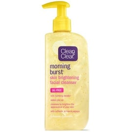 CLEAN & CLEAR Morning Burst Skin Brightening Facial Cleanser 8 oz