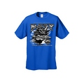 Men's T-Shirt United States Navy A Global Force For Good Military Naval Graphic Tee - Thumbnail 3