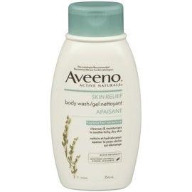 AVEENO Active Naturals Skin Relief Body Wash Fragrance Free 12 oz