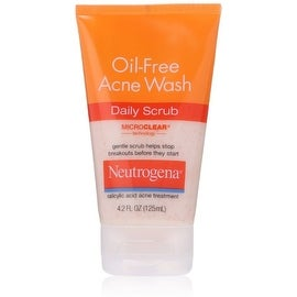 Neutrogena Oil-Free Acne Wash Daily Scrub 4.20 oz